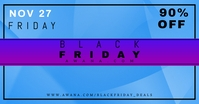 Black Friday Facebook Shared Image template