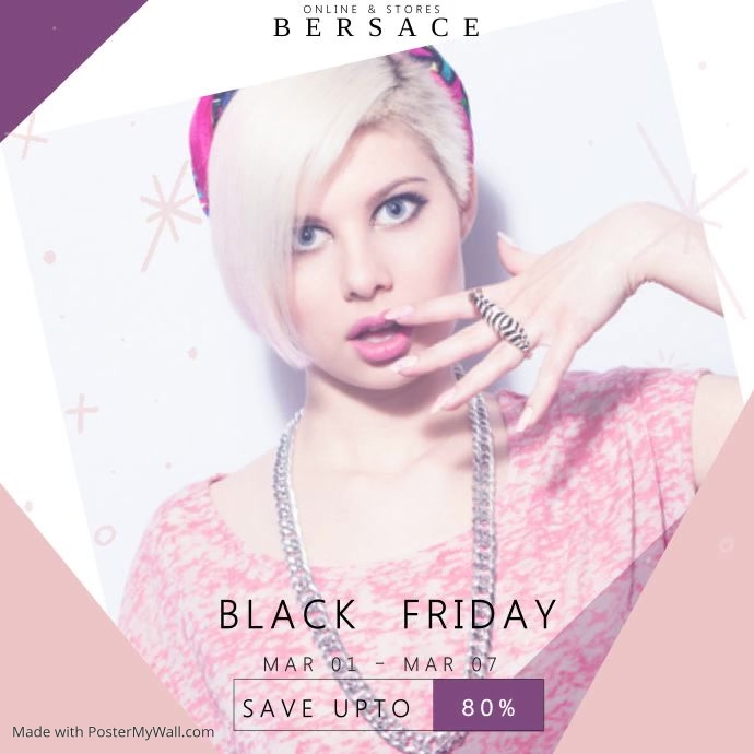 Black Friday Fashion Video Template