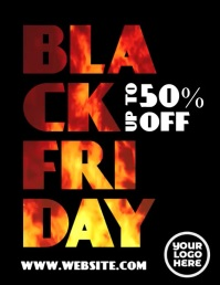 Black Friday Fire Animated Flyer