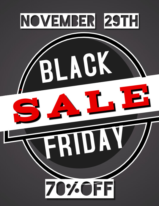 Black Friday Flyer 2019 Template Postermywall
