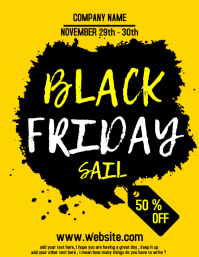 Black Friday Flyer Pamflet (VSA Brief) template