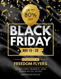 Black Friday Flyer Pamflet (Letter AS) template