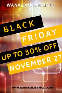 Black Friday Flyer Template Плакат
