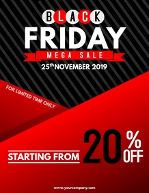 Black Friday flyers,event flyers,retail flyer