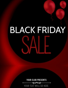 Black friday flyers,event flyers