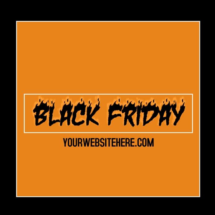 Black Friday Instagram Post