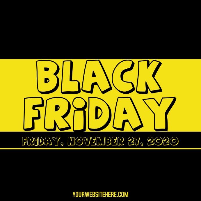 Black Friday Instagram Post template