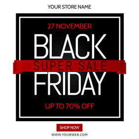 Black Friday Instagram Template