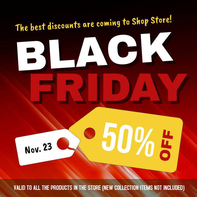 Black Friday November Instagram Image