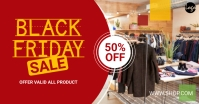 Black Friday Offer Facebook-Anzeige template