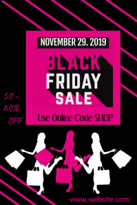 Black Friday Poster Póster template