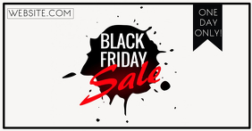 Black Friday Anuncio de Facebook template