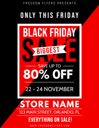 Black Friday Retail Flyer