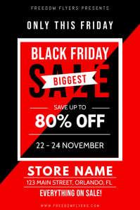 Black Friday Retail Poster