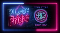 black friday sale ad design template Pos Twitter