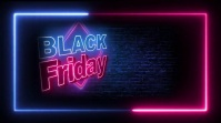 black friday sale ad design template Message Twitter