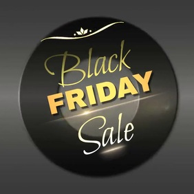 BLACK FRIDAY SALE ad template Pos Instagram