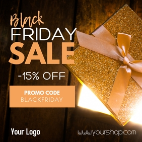 Black Friday Sale Advert Promotion Gift Promotion Store Shop
