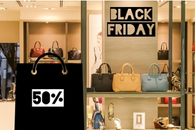 Black Friday Sale Label template