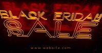 Black Friday Sale Facebook Shared Image template