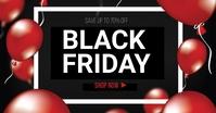 Black Friday sale Obraz udostępniany na Facebooku template