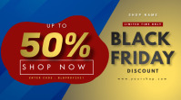 Black Friday Sale Digitale Vertoning (16:9) template