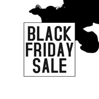 Black Friday sale Square (1:1) template