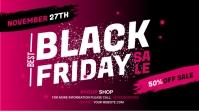 black Friday sale Wpis na Twittera template