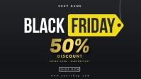 Black Friday Sale Digital Display (16:9) template