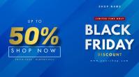 Black Friday Sale Digitalt display (16:9) template