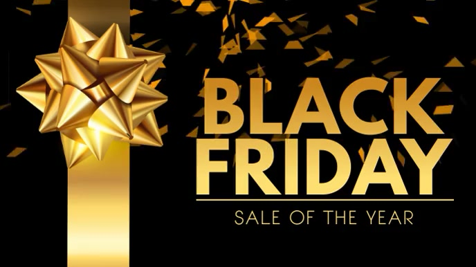 Black Friday Sale Digital Video Template