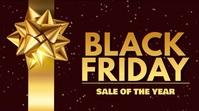 Black Friday Sale Digital Video Template 数字显示屏 (16:9)