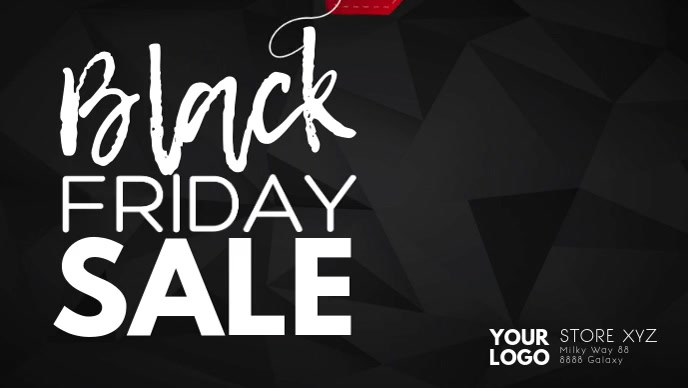 Black Friday Sale Discount Price Off Video Ad