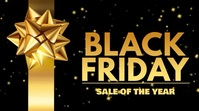 Black Friday Sale Event Video Template Digital na Display (16:9)