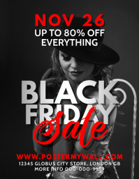 Black Friday Sale Eye-Catching Flyer