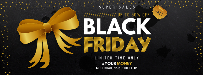 Black Friday Sale Facebook Cover