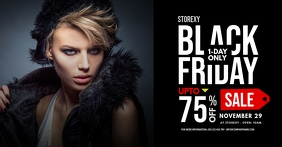 Black Friday Sale Facebook Shared Post