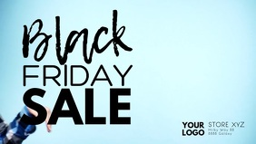 Black Friday Sale Fashion Store Happy fun