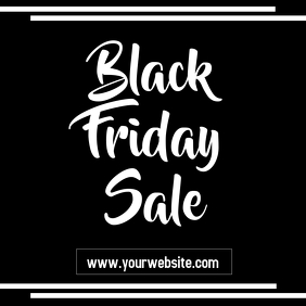 Black Friday Sale Flyer Instagram