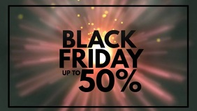 Black Friday Sale HEader Cover Explosion Fire
