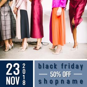 Black Friday Sale Instagram Event Flyer