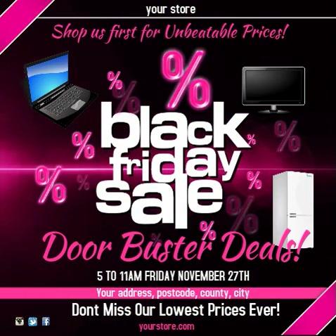 Black Friday Sale Instagram