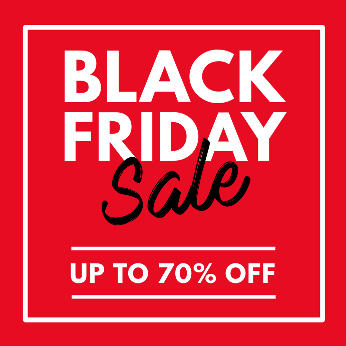 Copy Of Black Friday Sale Instagram Post Postermywall