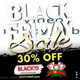 Black Friday Sale Instagram Post