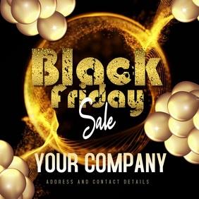 BLACK FRIDAY Sale Instagram Post Template