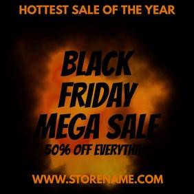 Black Friday Sale Instagram Template