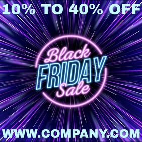 Black Friday Sale Instagram Template