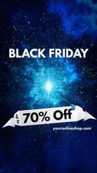 Black Friday Sale Instagram Template Display digitale (9:16)