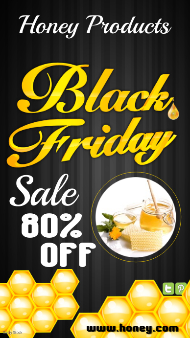 Black Friday Sale Leaflet