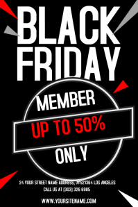 21 250 customizable design templates for black friday sale template